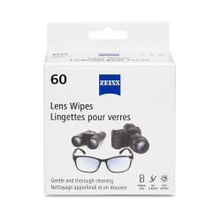 ZEISS Premoistened Lens Wipes - 60ct